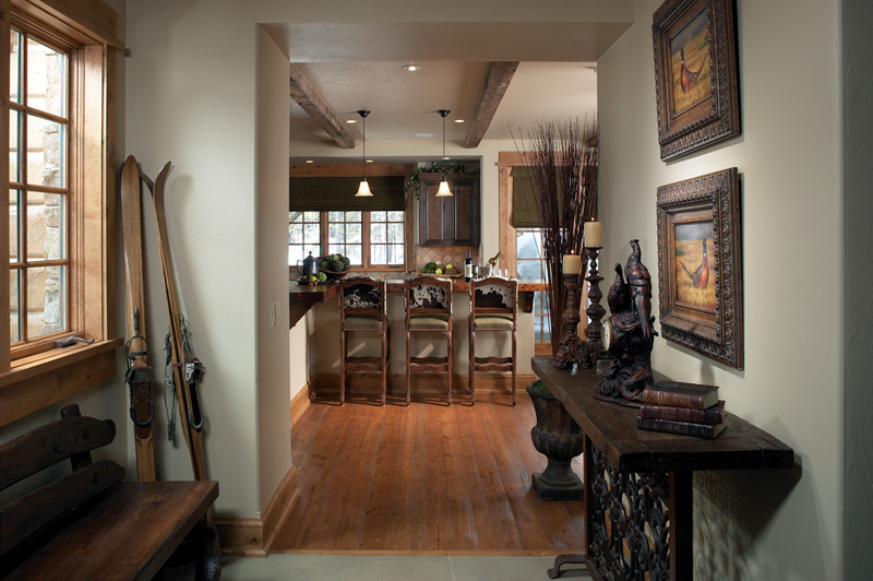 mountain home interior design. The final outcome is a finished interior design conveying an impression  that was nothing short of harmonious balance between nature and home Moonlight Mountain Home Montana Expressions